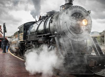 WM Steam Engine 734