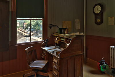 Trainmaster's Office, Thurmond, WV