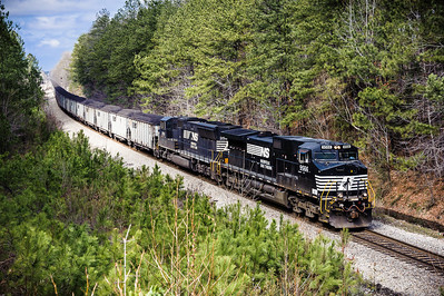 Norfolk Southern Coal Train