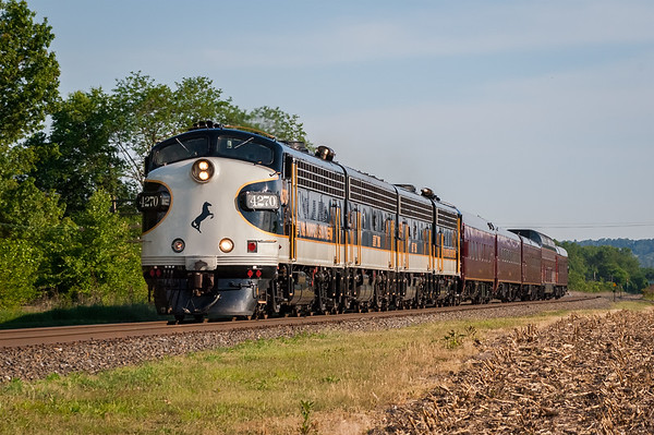 A northbound NS OCS passes through Montandon, Pennsylvania on May 20, 2010.