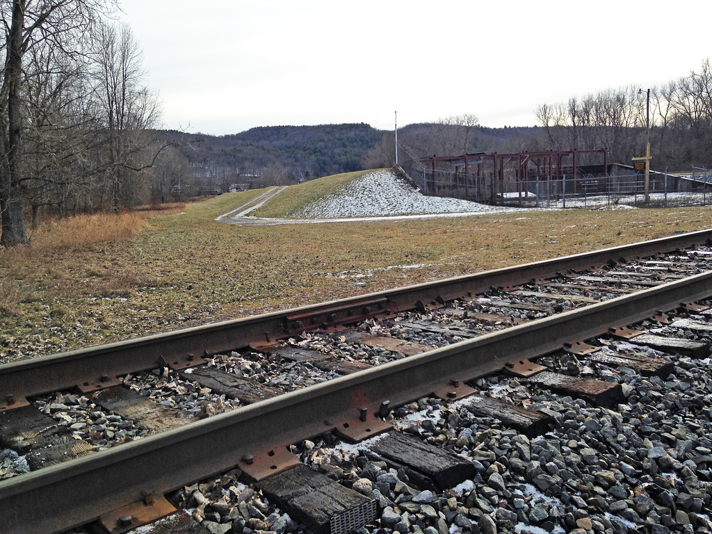 Switchback at Existing Freight Track - 1/12/17