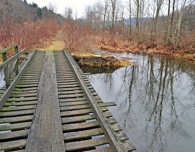 Footbridge, Ridgeway Trail – 1/20/17