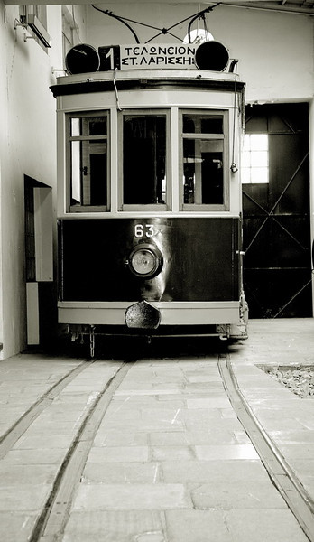 The first Athens tram..Since 1939..