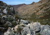 Down the Maltese Cross hiking trail - towards the Dwarsrivier area - Cederberg Wilderness Area