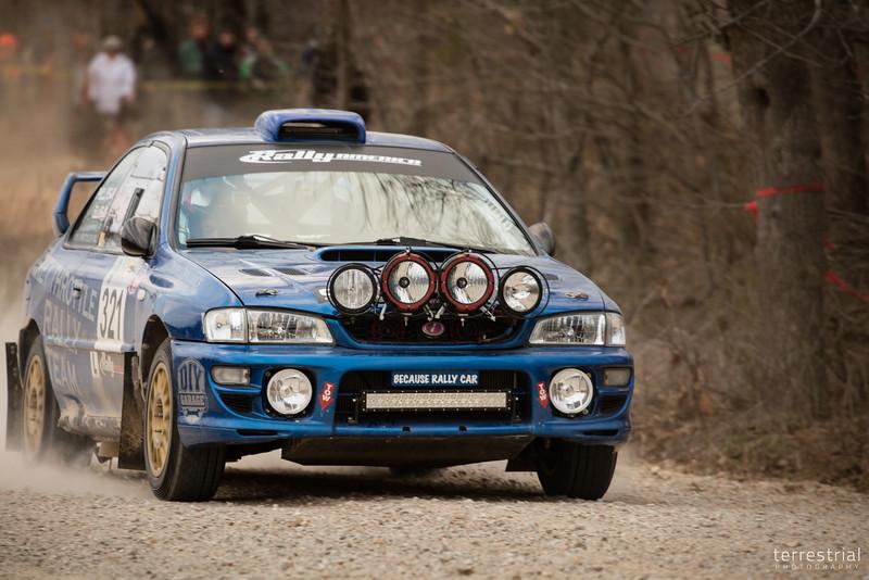 Because Rally Car