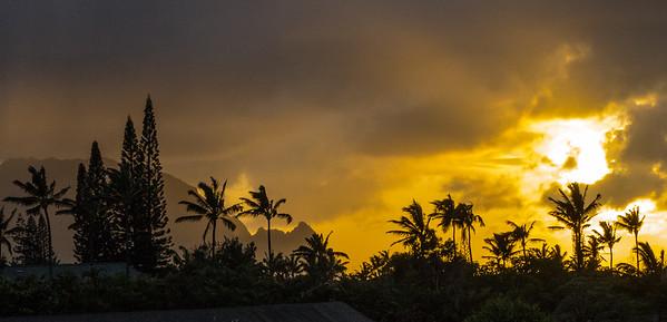Stormy Evening on Kauai