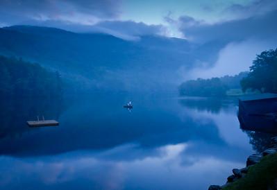 Twilight at Lake Mansfield