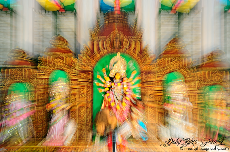 Blessings of Hindu Goddess Durga @ BAGA - Atlanta, Georgia - USA
