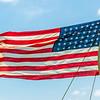 United State Flag Flying