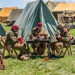British Soldiers Darning