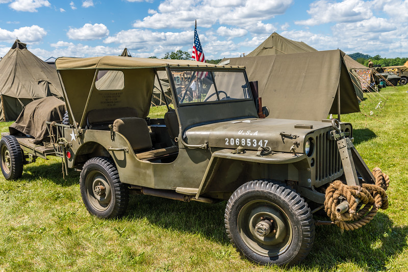 Covered Jeep
