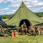 World War II Tent & Soldiers