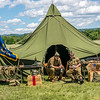 World War II Tent & Soldiers