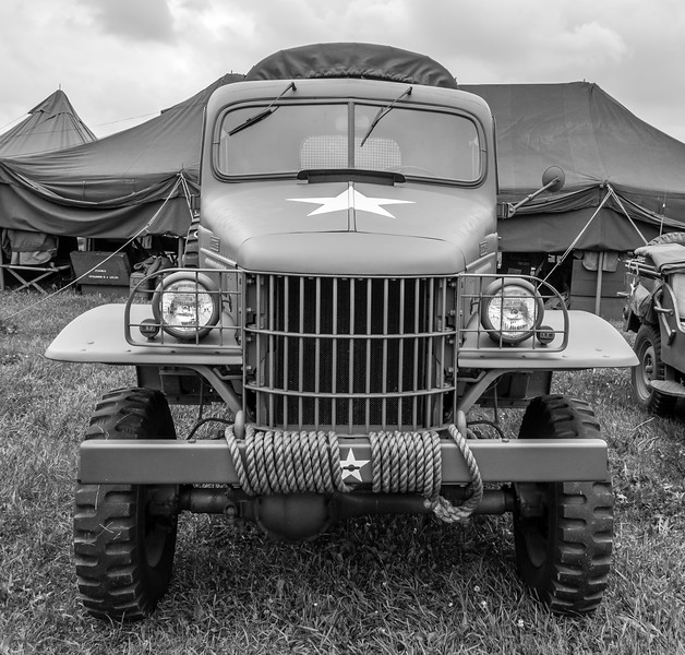 Front of a Deuce-and-a-Half Truck