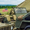 US Flag on a Jeep