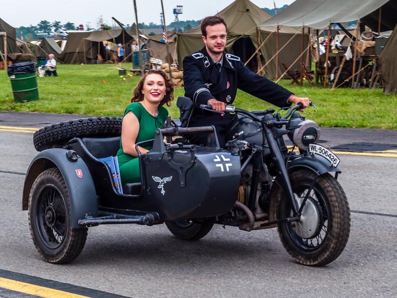 German Motorcycle Cruising