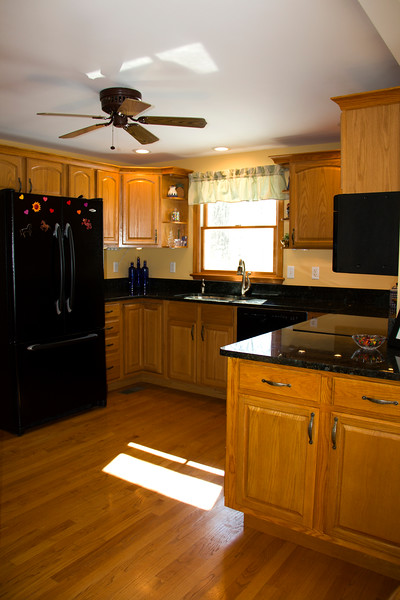 Kitchen to a house in Charlottesville, VA
