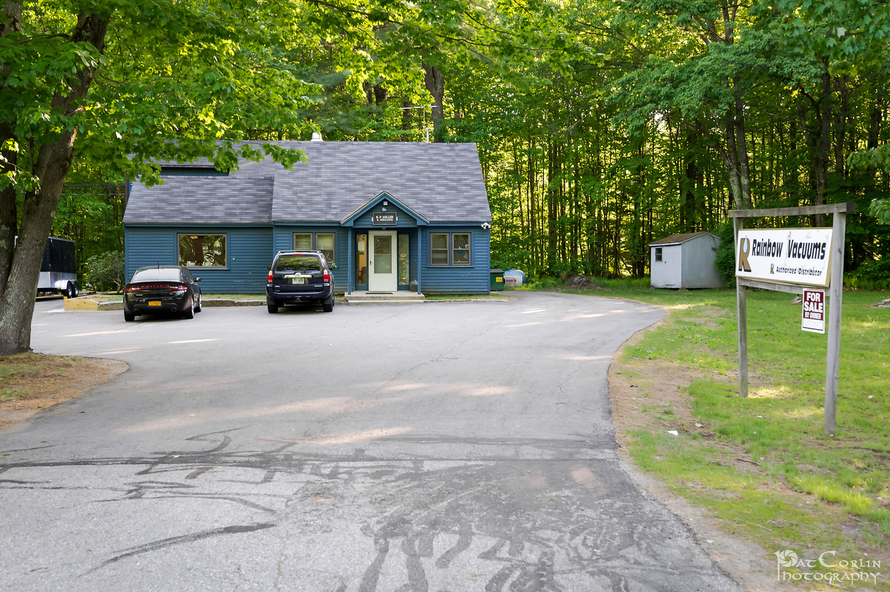 Rte 11 Street Entrance To Front And Rear Suite Of Offices With Multiple Parking Spaces