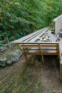 Beautiful New England Stone Walls Add Charm To The Back Yard