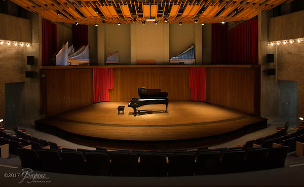 Michelsen Concert Hall at the University of Wisconsin Stevens Point