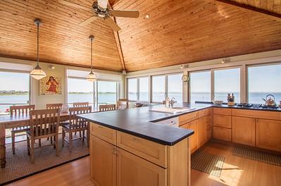Saltaire, FIre Isalnd Bay Front Kitchen