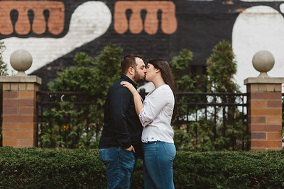 Cleveland Indians Engagement-0042