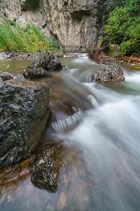 American Fork River in the Rain 01