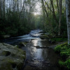 Mountain Stream Sunrise