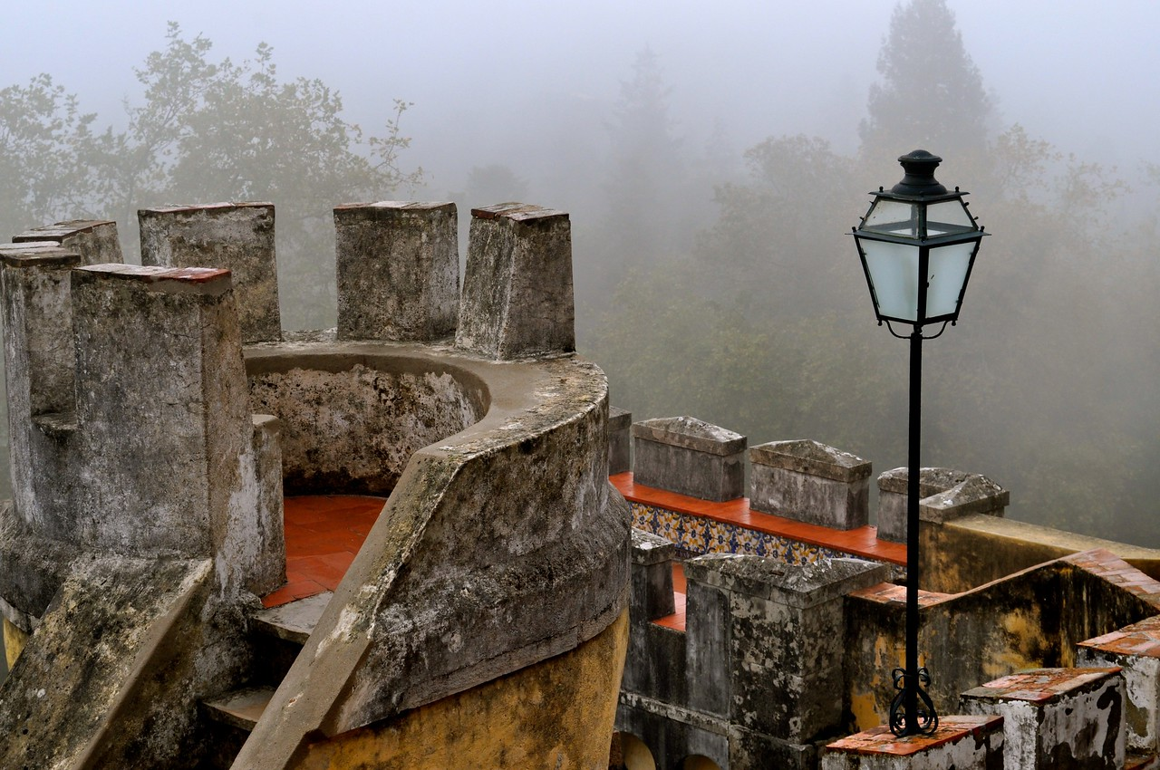 Mist Falls on Castle Walls