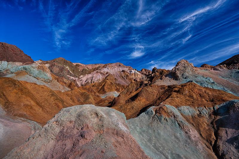 Artist's Drive, Death Valley National Park, 9-December-2019