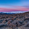 Waiting for first light, Granite Range, Nevada, 18-February-2021