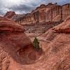 Going Down! - Peekaboo Trail, Canyonlands National Park, Utah, USA