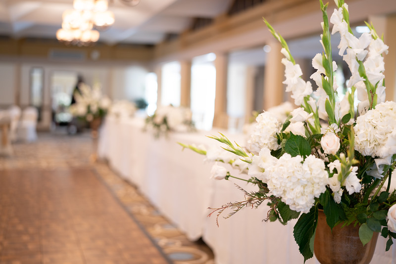 Floral arrangements by Annie Alexander Flora Designs