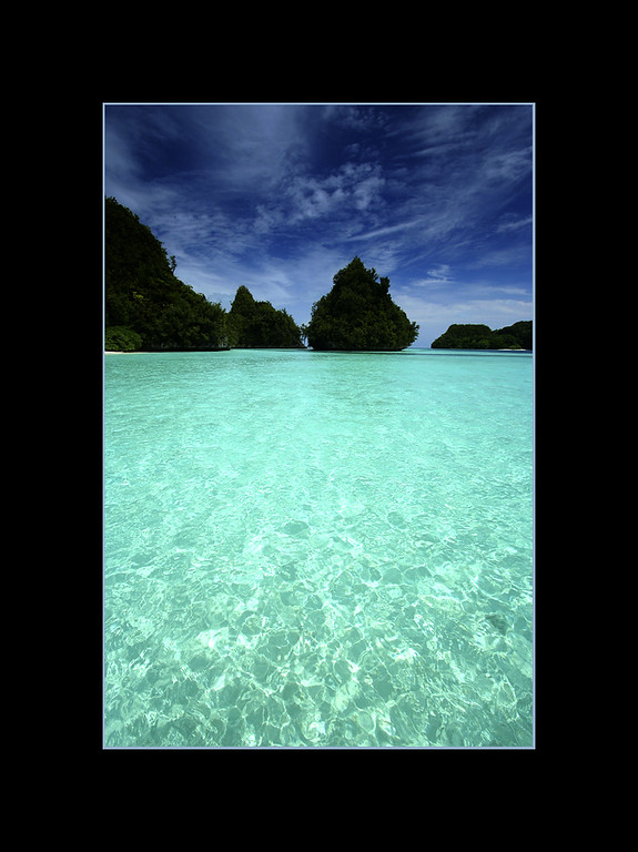 Yes, the water really is that clear...Palau, Micronesia