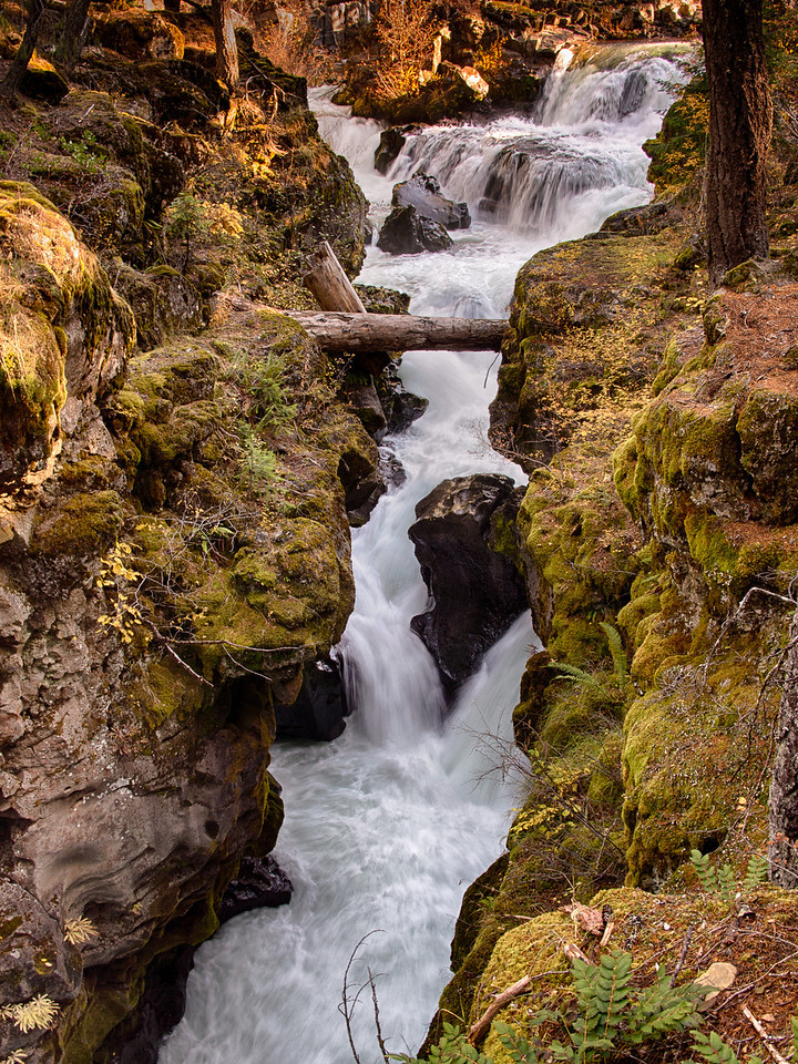Cascade Gorge in Oregon