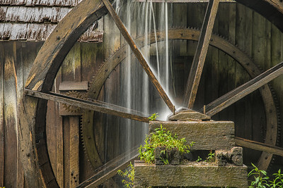 Mabry's Mill on the Blue Ridge Parkway in Virginia