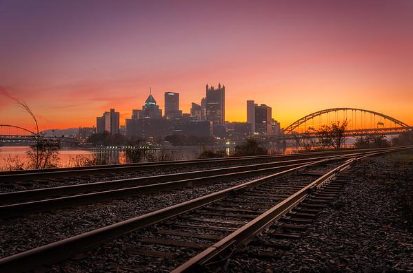 Train Track Glow