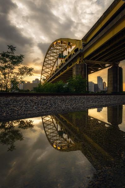 Fort Pitt Bridge Reflection