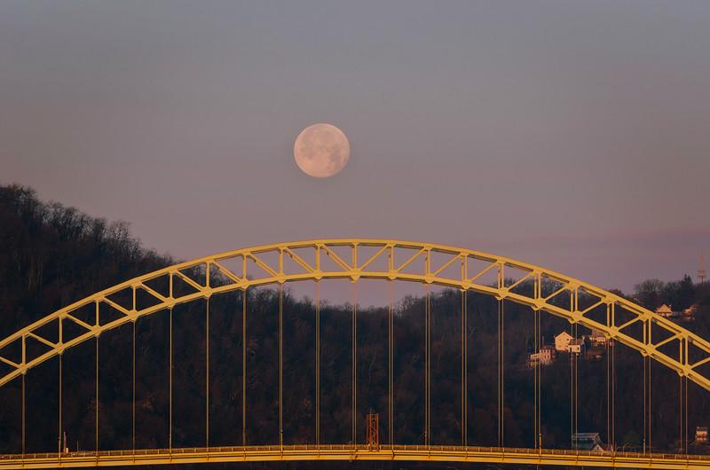 West End Moon Rise