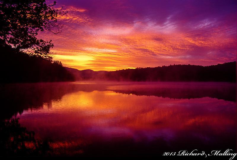 Price Lake Colorful Sunrise_