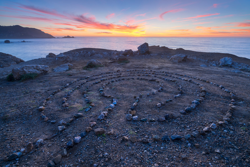 Pacifica Rock Maze