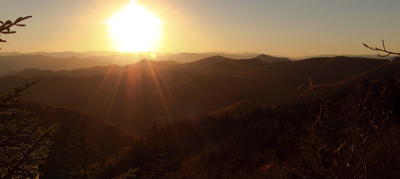 Sunset In The Blueridge