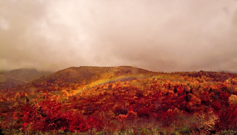 Rainbow Graveyard Fields NC