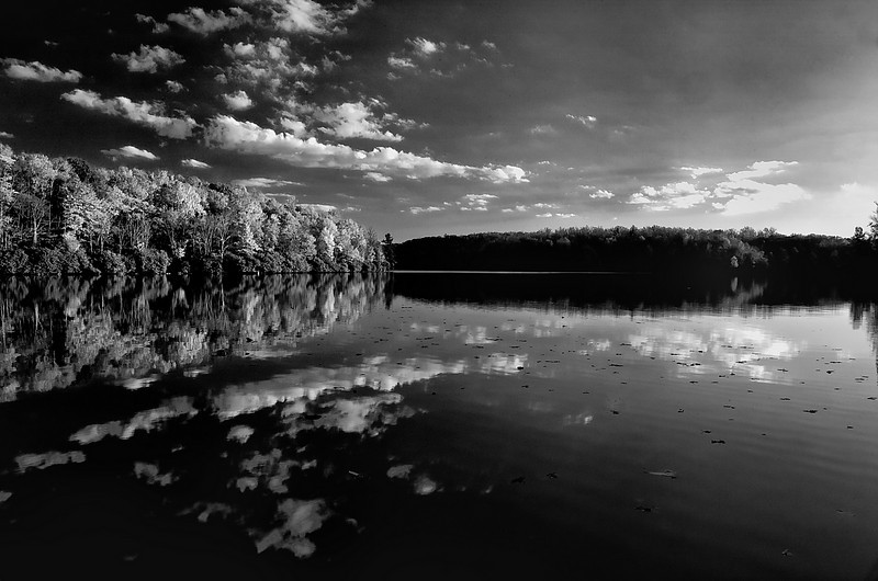Price Lake NC B&W