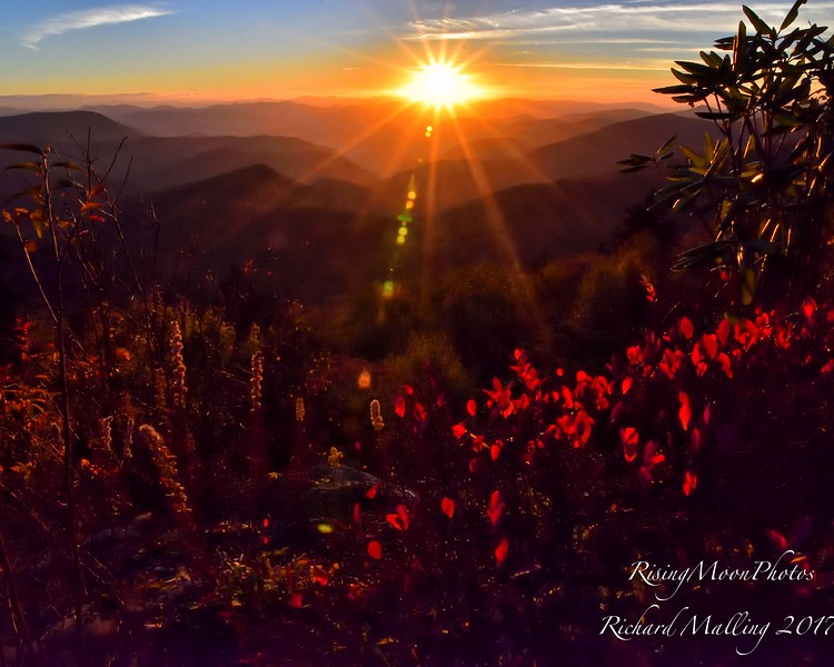Blue Ridge Sunset 2017