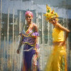 Cuban Stilt Walkers
