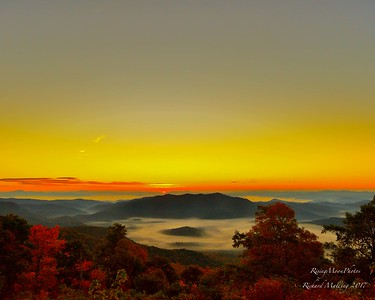 Sunrise At Graveyard Fields