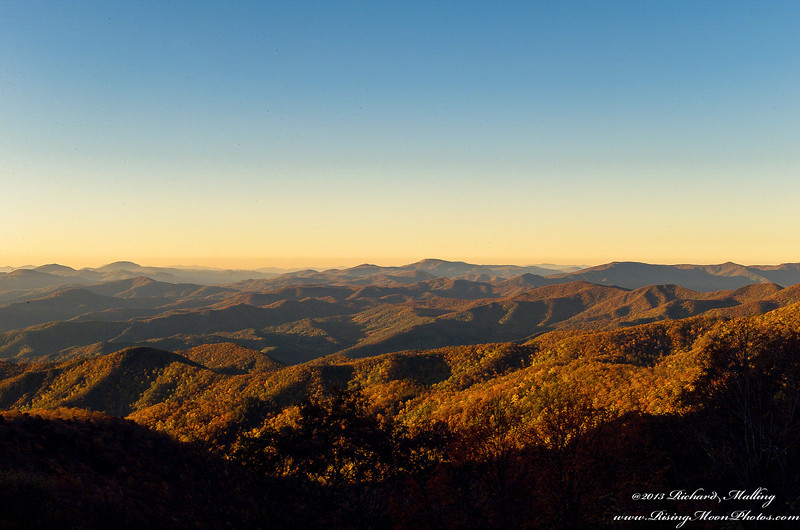 North Carolina Blue Ridge Mountains Fall Colors