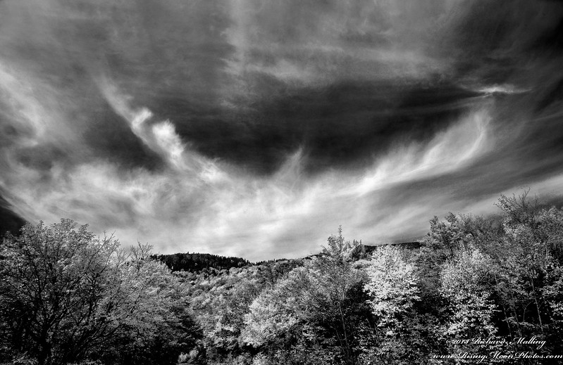 Linville Cove B&W In North Carolina