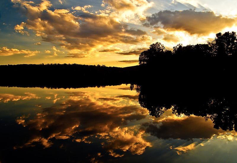 Price Lake Sunset